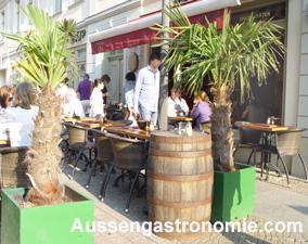 Gastronomie deko pflanzen for Gastro deko