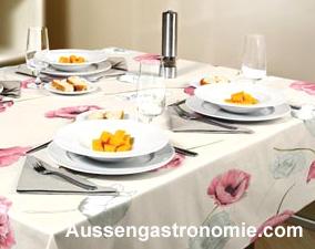Gastronomie tischdekoration - Gastronomie dekoration ...