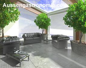 gastronomie designertische. Black Bedroom Furniture Sets. Home Design Ideas