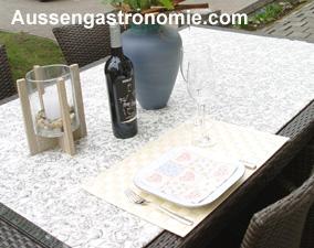 gastronomie tischsets. Black Bedroom Furniture Sets. Home Design Ideas